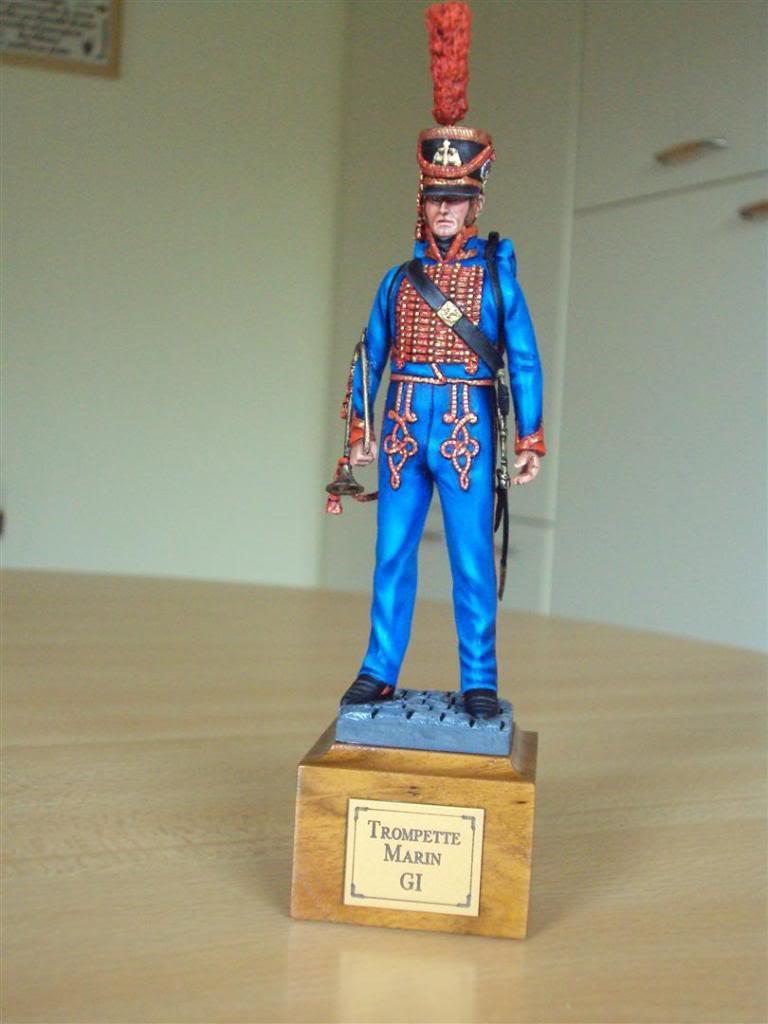 Trompette de Marins Garde Impérial grande tenue 1800 DSC04229Large