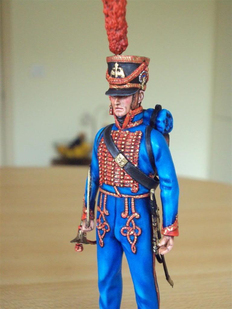 Trompette de Marins Garde Impérial grande tenue 1800 DSC04230Large