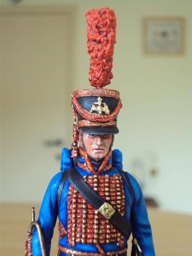Trompette de Marins Garde Impérial grande tenue 1800 DSC04235Large