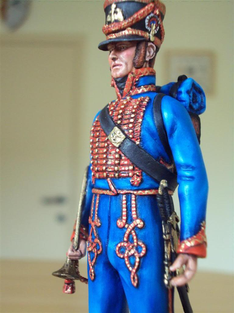 Trompette de Marins Garde Impérial grande tenue 1800 DSC04238Large