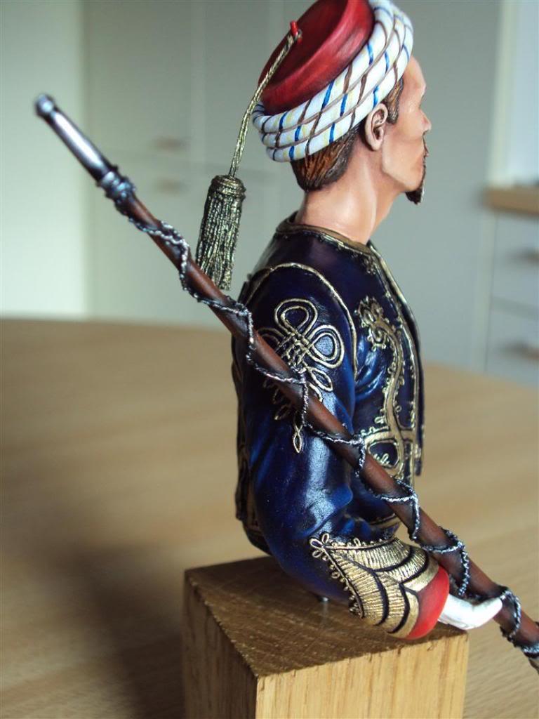 Tambour Major des Zouaves la Garde Impériale 1854-1870 1/9e   DSC05713Large