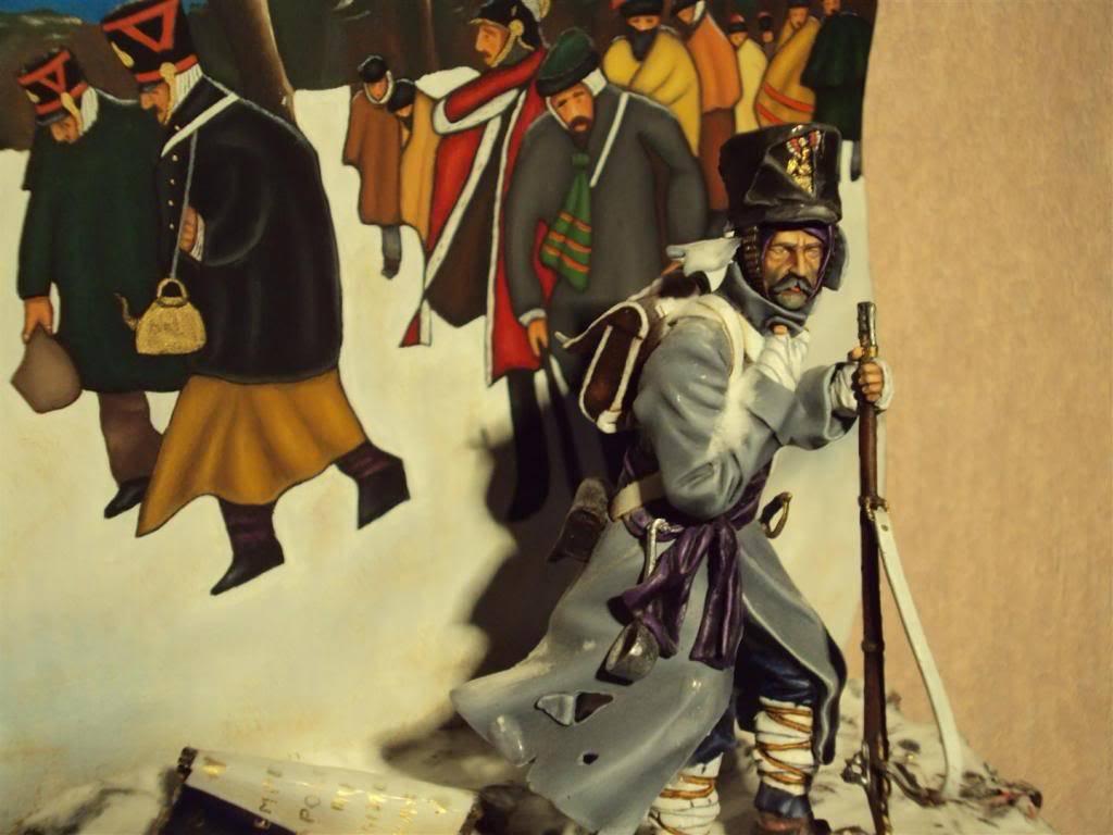 Vitrine de Ferre: Husarenregiment von Ruesch 1745 Deterugtocht1812_3