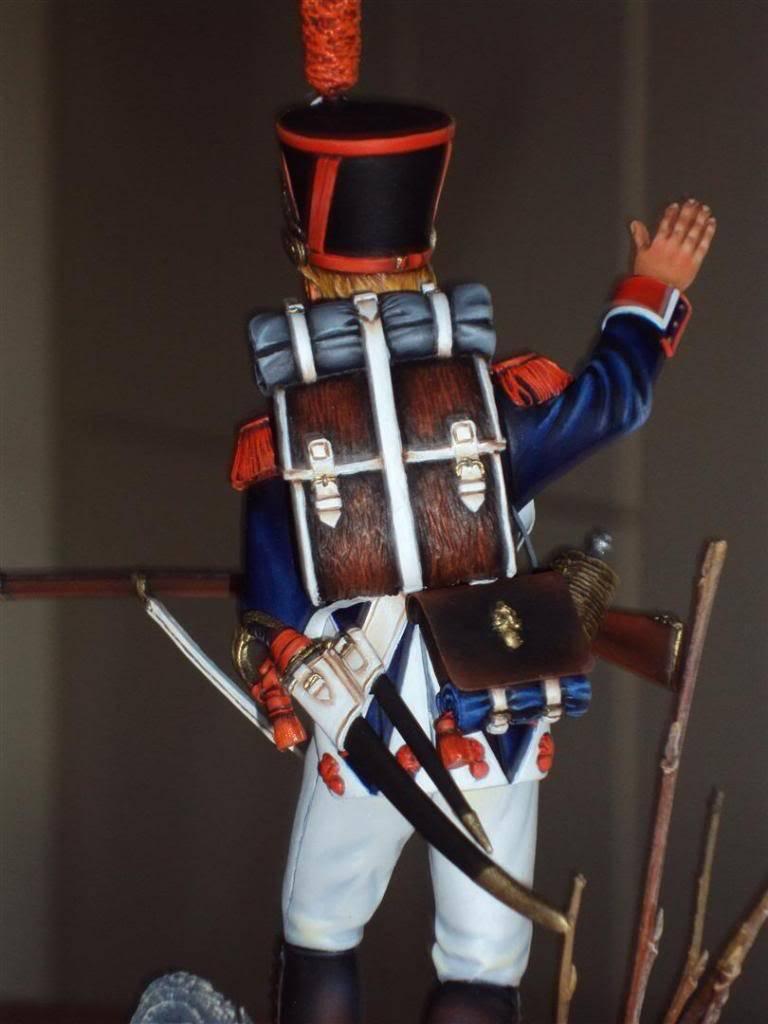 Vitrine de Ferre: Husarenregiment von Ruesch 1745 Infantry1812_5