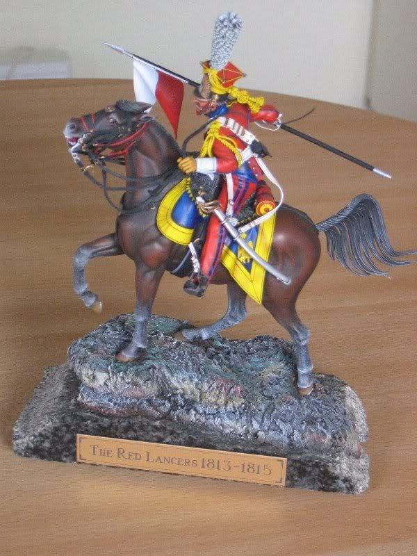 Vitrine de Ferre: Husarenregiment von Ruesch 1745 - Page 4 Redlancers