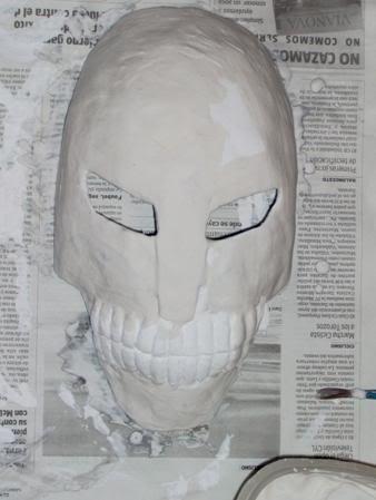 Tutorial cosplay Máscara de Hollow (Bleach) Mascara4