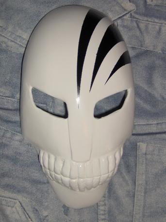 Tutorial cosplay Máscara de Hollow (Bleach) Mascara6