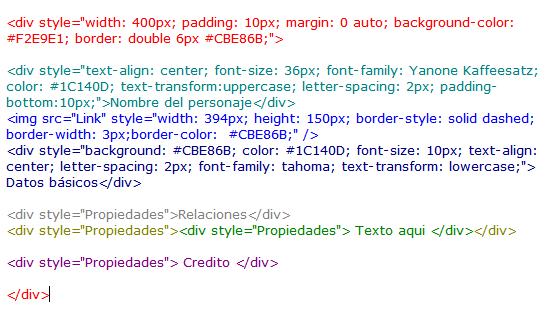 ¿Cómo hacer la tabla HTML? Code3