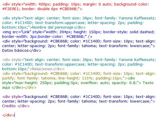¿Cómo hacer la tabla HTML? Code4