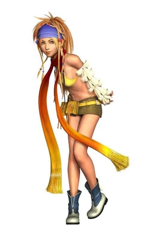 MIna (no last name) Rikku