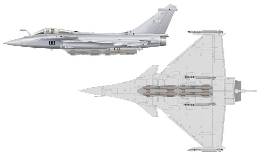 BOEING F/A-18E et F SUPER HORNET  Rafale4AASM-1