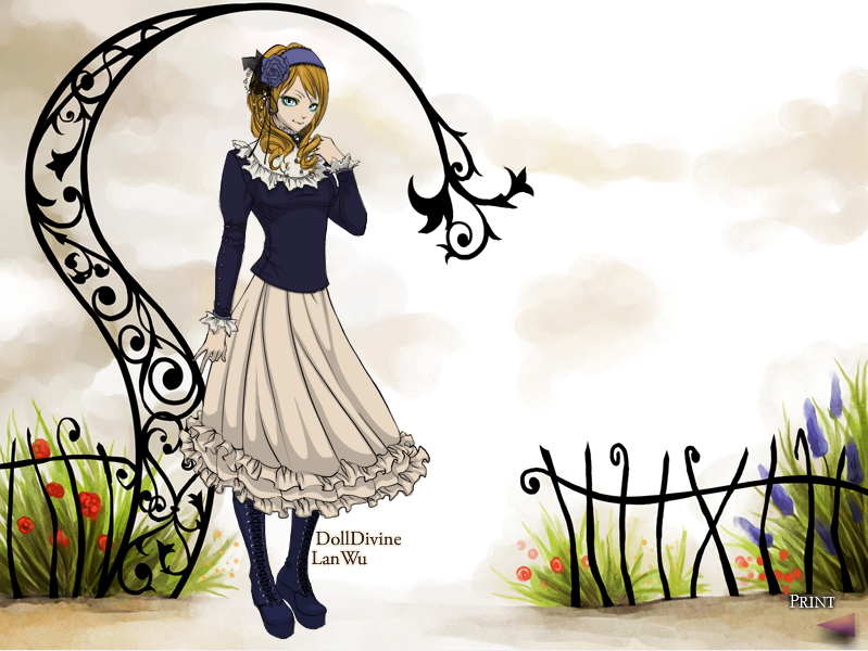 Dress-Up Dolls AliceDoll