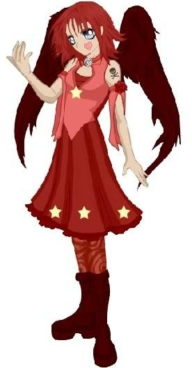 Dress-Up Dolls RedAngel