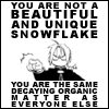 Funny/Awesome Avatars. Not_A_Snowflake
