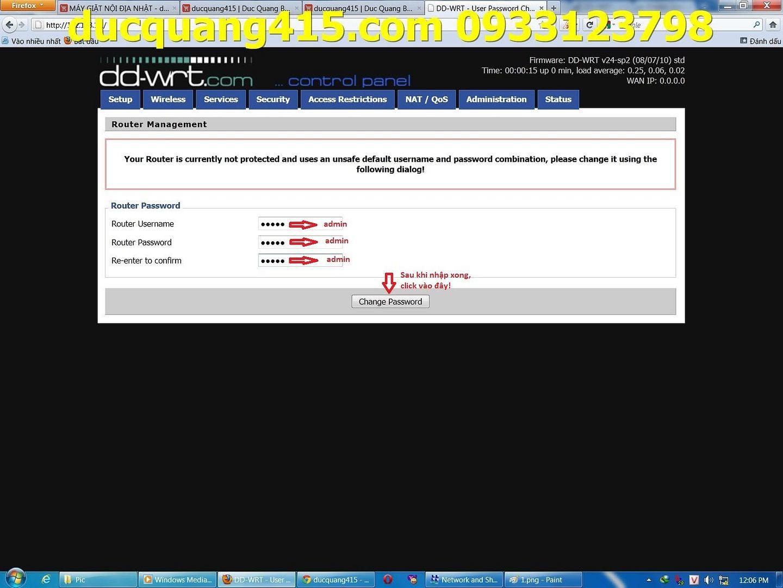 Hướng dẫn cài đặt Repeater WIFI BUFFALO chạy Firmware dd-wrt để thu phát sóng 2