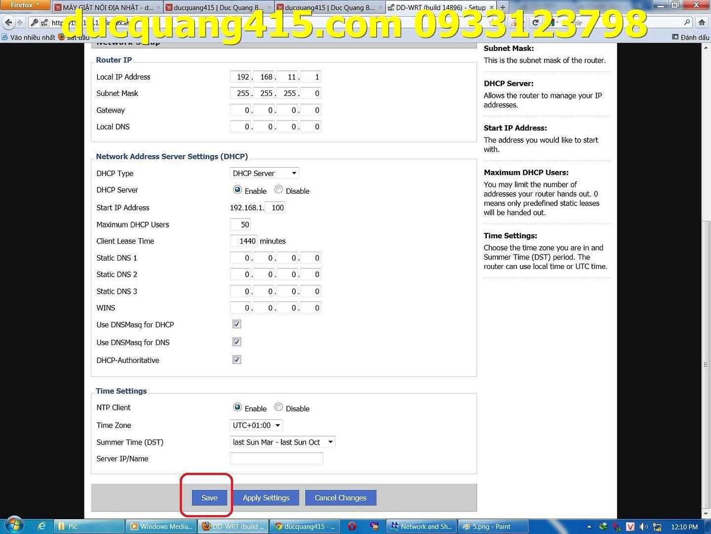 Hướng dẫn cài đặt Repeater WIFI BUFFALO chạy Firmware dd-wrt để thu phát sóng 6