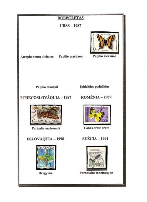 Ma Collection de Papillons Borb63