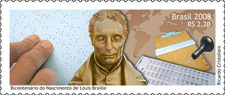 Emissions de Brésil - 2009 01-Braille