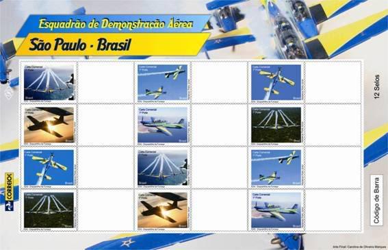 Emissions de Brésil - 2009 18-Esquadrilha