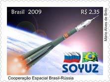 Emissions de Brésil - 2009 21-soyuz