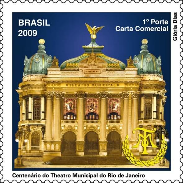 Emissions de Brésil - 2009 23-Teatro_Municipal_RJ-2