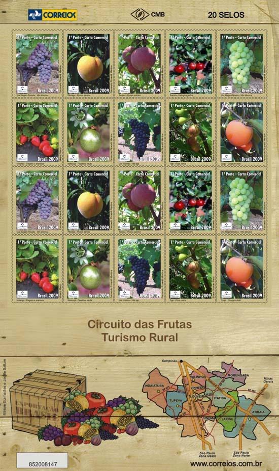Emissions de Brésil - 2009 24-frutas-Mercosul