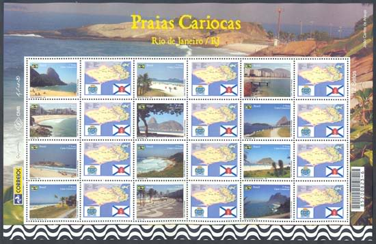 Emissions de Brésil - 2009 45-PraiasCariocas