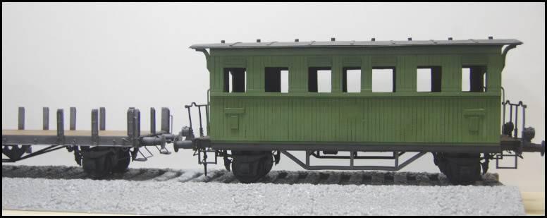 REICHSBAHN Drehschemelwagen der DR L005-1