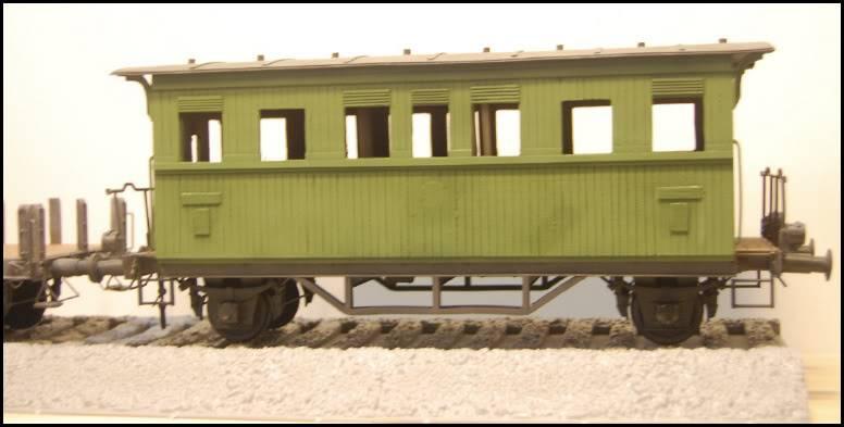 REICHSBAHN Drehschemelwagen der DR L011-1