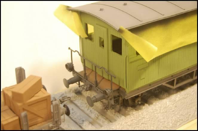 REICHSBAHN Drehschemelwagen der DR L025-1
