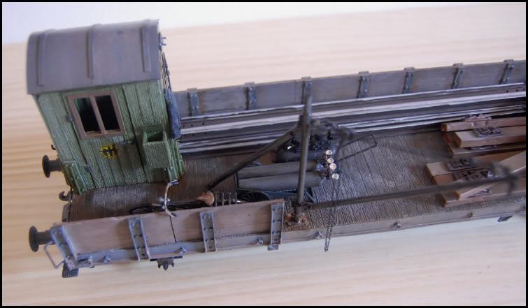 REICHSBAHN Drehschemelwagen der DR L029-1