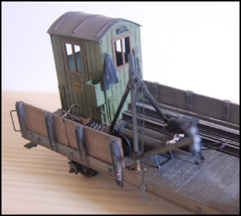 REICHSBAHN Drehschemelwagen der DR L032-1