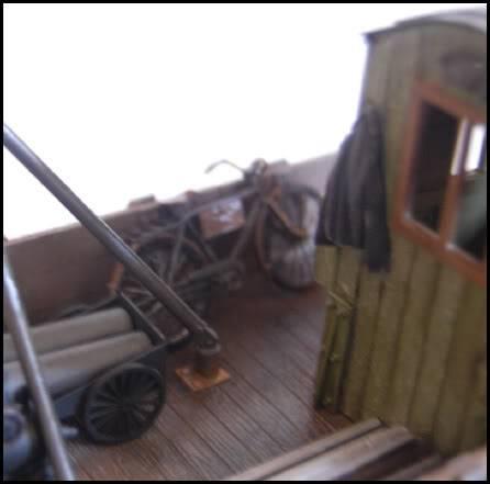 REICHSBAHN Drehschemelwagen der DR L037-1