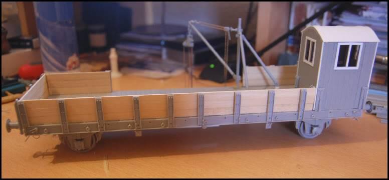 REICHSBAHN Drehschemelwagen der DR L052