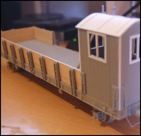 REICHSBAHN Drehschemelwagen der DR L055