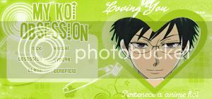 "Credenciales ""My Koi Obsession"" IDHaruhi-Kyouya"