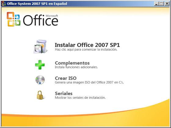 TEU Microsoft Office System 2007 SP1(SPANISH) 356232teu-office2007sp1