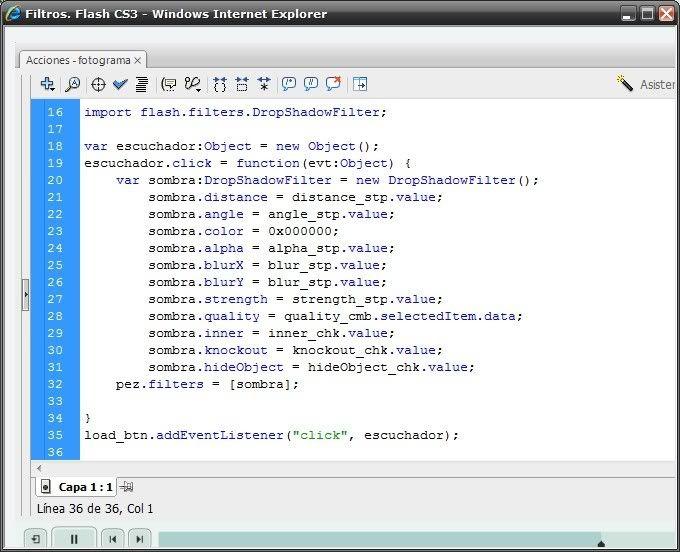 Curso Virtual de Adobe Flash CS3 (SPANISH) FlashCS33