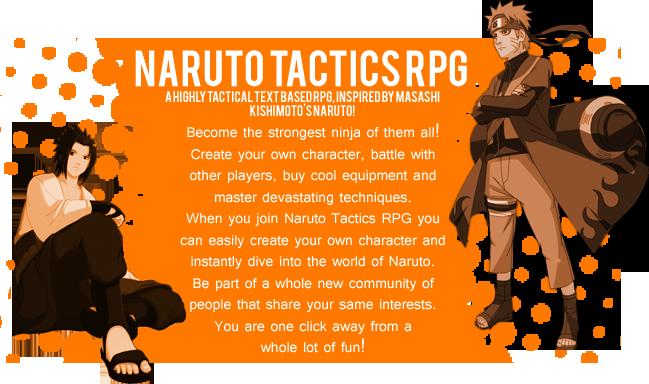 Naruto Tactics RPG Advertisment