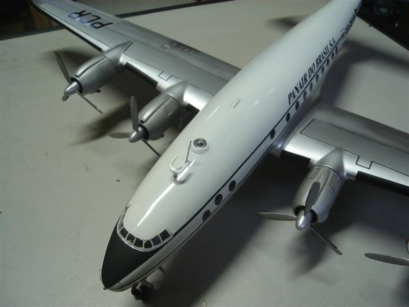 Heller 1/72 Lockheed Constellation Panair DSC08378Medium