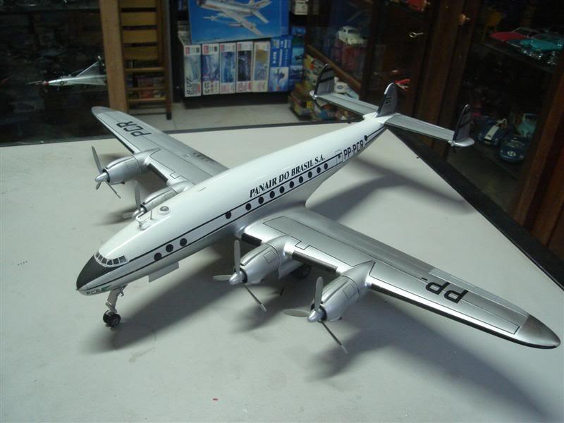 Heller 1/72 Lockheed Constellation Panair DSC08379Medium