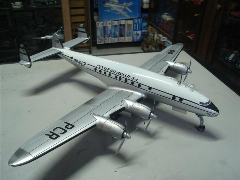 Heller 1/72 Lockheed Constellation Panair DSC08380Medium