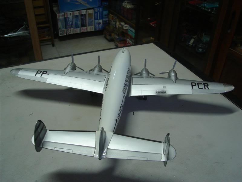 Heller 1/72 Lockheed Constellation Panair DSC08381Medium