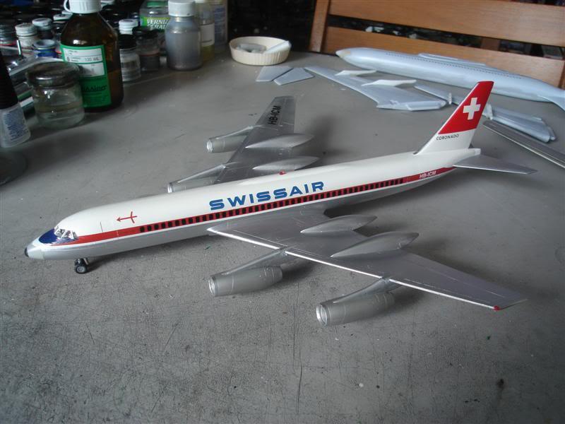 Convair 990 Swissair Revell  DSC09003Medium