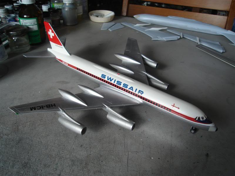 Convair 990 Swissair Revell  DSC09004Medium