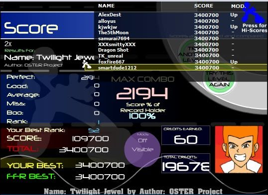 Post your FFR Scores here! - Page 10 Twilightjewel
