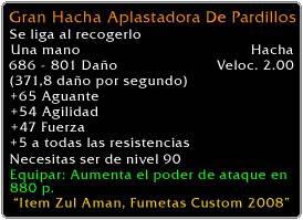 Armas Custom GranHachaAplastadoraDePardillosdeta