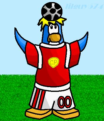 Soccer  in paint. Lilguy574