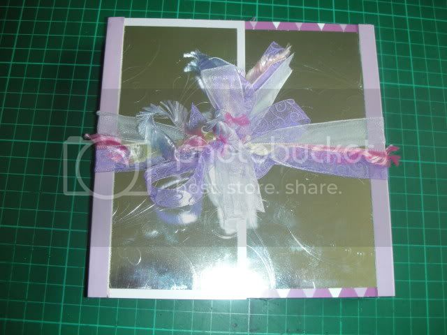 Steph Challenge 6 ribbons /card 040