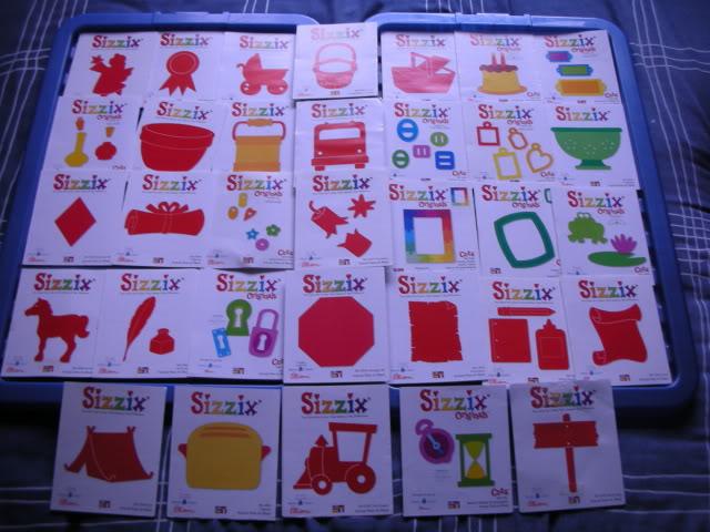 SIZZIX DIES FOR SALE EBayOct2011023