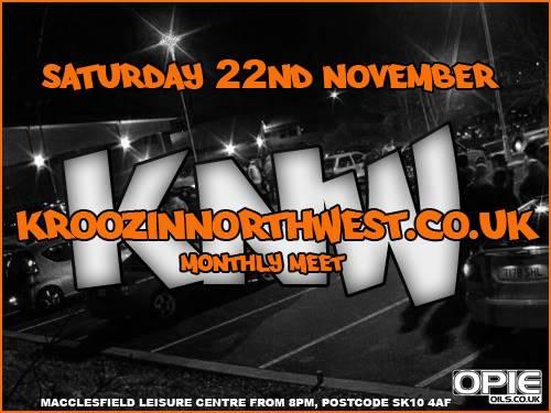 KNW: Monthly Meet - Saturday 22nd November! KNWMeet-11